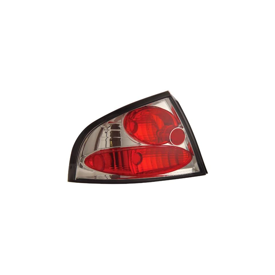 Anzo USA 221098 Nissan Sentra Chrome Tail Light Assembly   (Sold in Pairs)