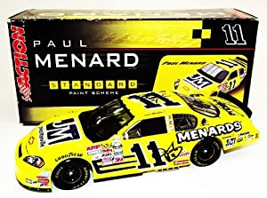 Buy 2006 Paul Menard #11 Johns Manville 1 24 Action Diecast 6X TEAM SIGNED by Trackside Autographs
