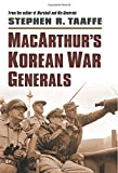 img - for MacArthur's Korean War Generals (Modern War Studies (Hardcover)) book / textbook / text book