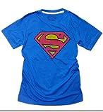 スーパーマン アメコミ プリント Tシャツ 半袖 メンズ (SPMマーク)