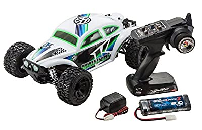 Kyosho Mad VE Brushless Powered RC Volkswagen Baja Bug RC Car, White
