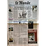 MONDE (LE) [No 17955] du 17/10/2002 - MODE JEUNES - PORNO ET TELEVISION - LE CSA CONTRE LES FILMS PORNOS - ATTENTAT...