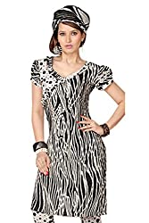Variation Women's Black Jacquard Unstiched Dress Material (VD11944)