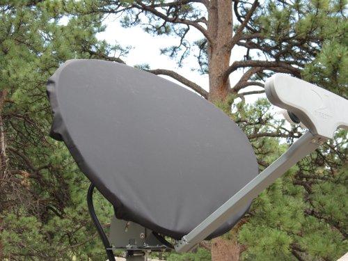 Dish Network TurboHD Dish Satellite Cover – Color Gray