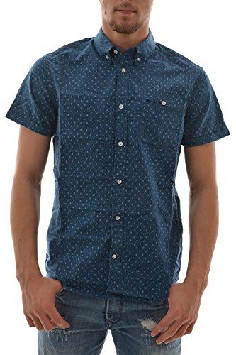 Camicia a maniche corte, ringwood pepe jeans, colore: blu blu X-Large