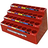 FastCap KISS DB INDEX 1/16-inch - 1/2-inch Color-Coded 32 Drill Bit Slot Index