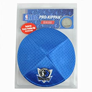 NBA Dallas Marvericks Clip Pro Kippah Kipa Yamaka Jersey Mesh Licensed Yarmulke by Emblem Source