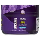 Electrolitos Myoplex BCAA en polvo EAS, 1.19 libras, sabor frambuesa azul