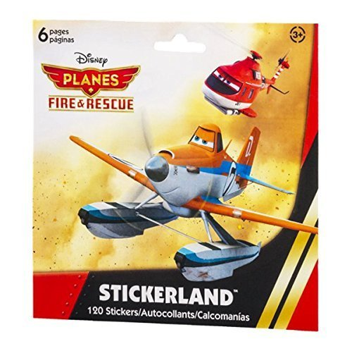 Stickerland Stickers Disney Planes Fire & Rescue - 120 CT