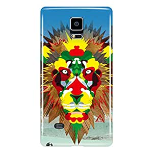 a AND b Designer Printed Mobile Back Cover / Back Case For Samsung Galaxy Note 4 (SG_N4_3D_3490)