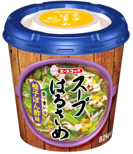 エースコック スープはるさめ 柚子ぽん酢味 32g×6個