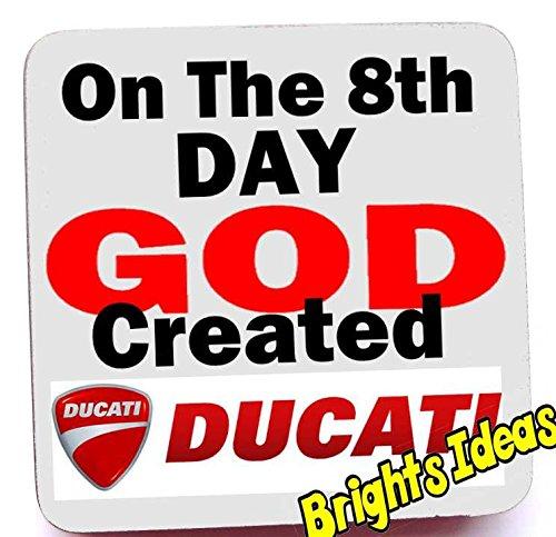 on-the-8th-day-god-created-ducati-coaster-coffee-tea-mug-from-our-coasters-range-a-unique-fathers-da