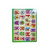 Dcs Multicolour Wooden Tray Puzzle - Alphabets (abcd)