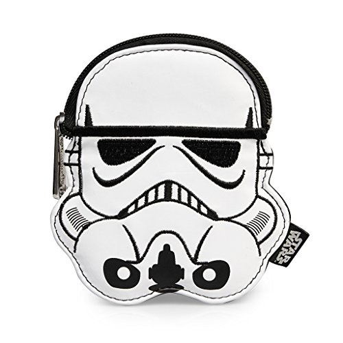 Star Wars Storm Trooper White Faux Leather Coin Bag