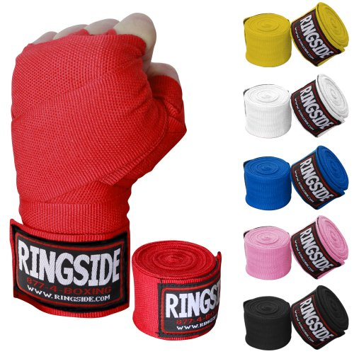 Ringside Mexican-Style Boxing Handwrap, Black, 180-Inch (Boxing Wraps compare prices)
