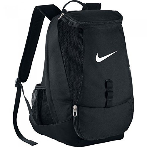 Nike Club Team Swoosh, zaino, Unisex, Rucksack Club Team, nero / bianco, MISC