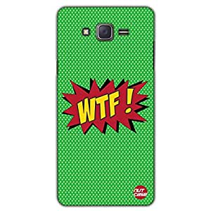 Designer Samsung Galaxy J5 Case Cover Nutcase -WTF - What The F**K - Comic Styled