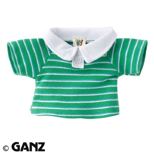 Webkinz Green Striped Polo - 1