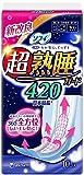 ソフィ 超熟睡ガード 420 特に多い日の夜用 羽つき 42cm 10コ入(unicharm Sofy)
