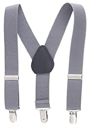 Kids and Baby Adjustable Elastic Solid Color Suspenders (22\