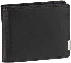 Bodenschatz Kings Nappa 8-742 KN 01, Unisex - Erwachsene Portemonnaies, Schwarz (black), 12x10x2 cm (B x H x T)