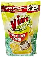 Vim Dishwash Gel - 1 L (Lemon) with Rs 42 Off