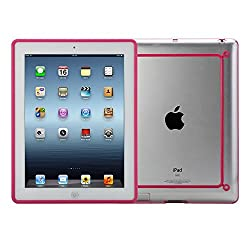 Hybrid Slim Tpu Bumper Transparent Clear Back Case Cover With Gel Edge For Ipad Air / 5