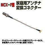 MCX-家庭用変換アンテナ(F型)変換ケーブル