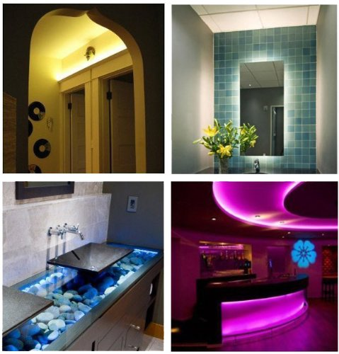TaoTronics Colored Led Strip Lights Kits Rope Lights for Indoor and ...