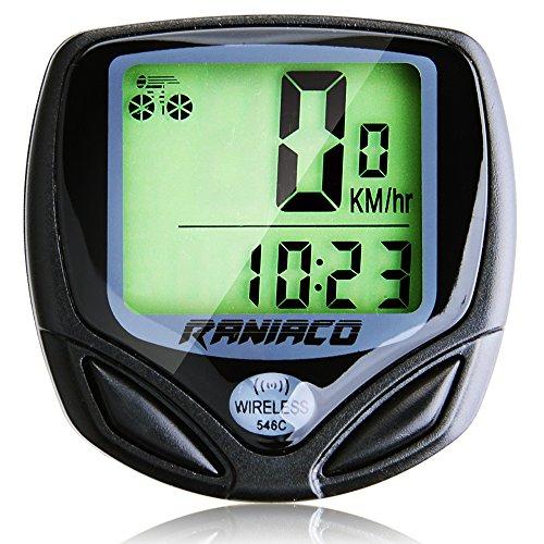 Bike Computer, Raniaco Original Wireless Bicycle Speedometer,Bike Odometer Cycling Multi Function