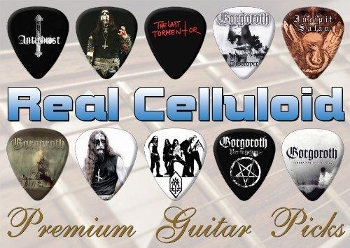 Gorgoroth Premuim Chitarra Pick Plettro Plettri X 10 (T)