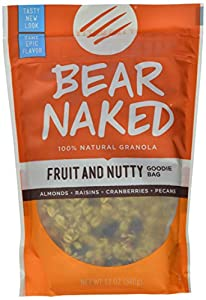 Bear Naked All Natural Granola, Fruit and Nut,  12-Ounce Pouches (Pack of 6)