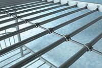Vernon Silver Metal Bunk Bed