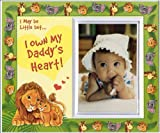 I May Be Little but...I Own My Daddy's Heart (jungle) - Picture Frame Gift