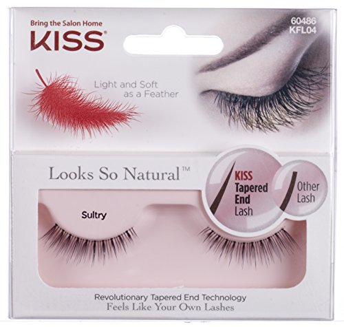Kiss Products Looks So Natural Lashes, Sultry, 0.03 Pounds by Kiss Products