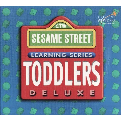 Ctw sesame street learning series toddlers deluxe 3 cd set creative