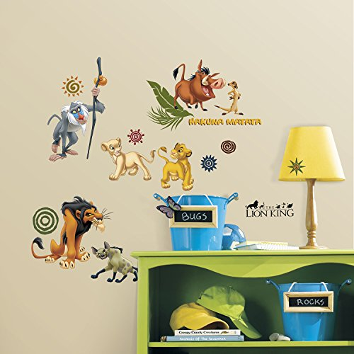 Roommates Rmk1921Scs The Lion King Peel And Stick Wall Decals front-1012697