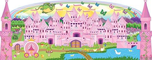 Mona Melisa Designs Baby Crib Mural, Princess