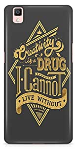 Oppo R7s Back Cover by Vcrome,Premium Quality Designer Printed Lightweight Slim Fit Matte Finish Hard Case Back Cover for Oppo R7s