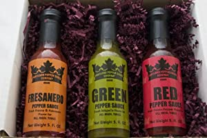 Portland Pepper Sauce Gift Set from Portland Pepper Sauce