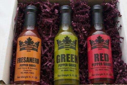 Portland Pepper Sauce Gift Set