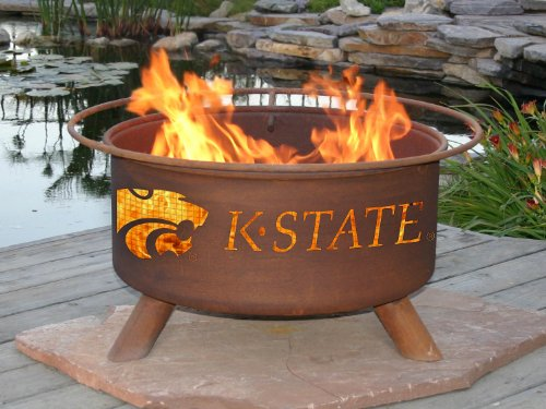 Patina Products Kansas State Wildcats Fire Pit