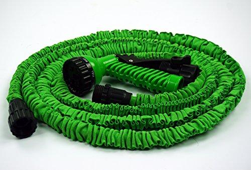 Magicrain hose 25ft garden hose with 7 patternno kink for Never kink garden hose