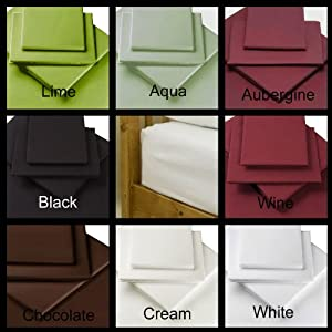"""NEW """"ULTRAFRESH""""ANTI ALLERGY, 16"""" EXTRA DEEP Double Size Fitted CREAM Sheet ,Choice Of 8 Colours And 5 sizes. By Rejuvopedic©"""