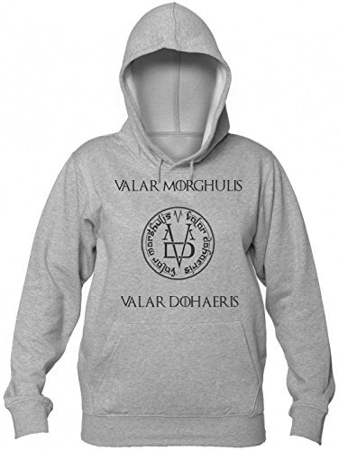 Game of Thrones Valar Morghulis Women's Hooded Sweatshirt Large