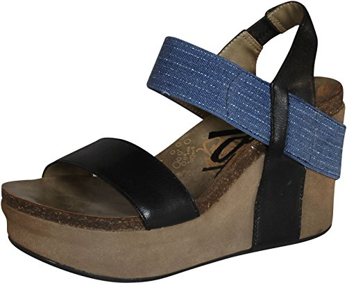 Otbt Women'S Bushnell Wedge Sandal,Denim,11 M Us front-1007182