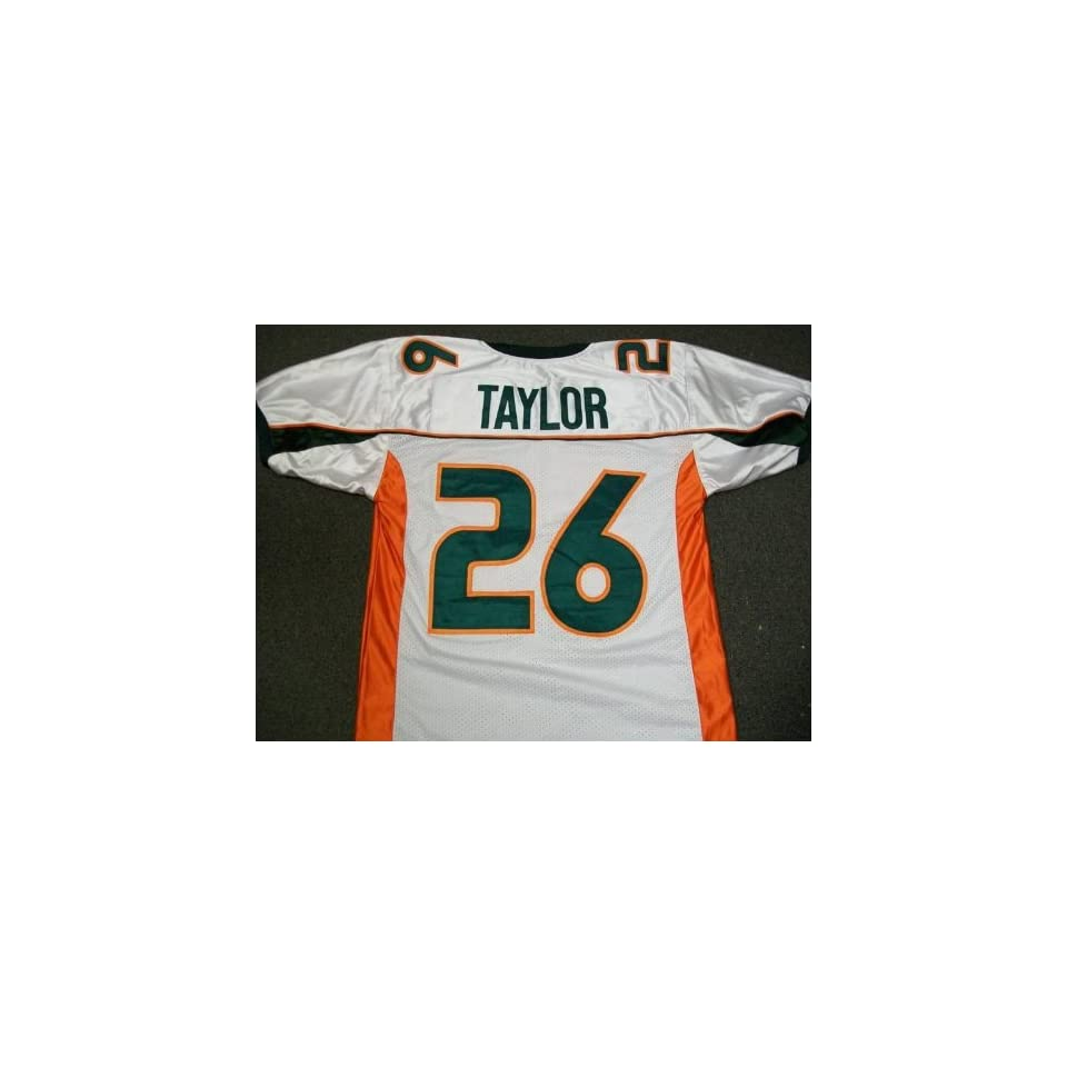 official photos 04c44 9be2a Sean Taylor Miami Hurricanes Authentic Style Jersey XL on ...
