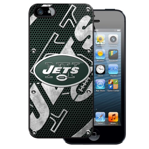 Team ProMark PC5NF21 Licensed NFL Protector Case for Apple iPhone 5 - New York Jets - 1 Pack - Retail Packaging - Multi at Amazon.com