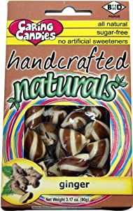 Sugar-Free All Natural Ginger Candies