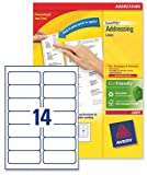 Avery L7163-250 - QuickPEEL Address Label 99x38mm L7163-250 (3500Labels)
